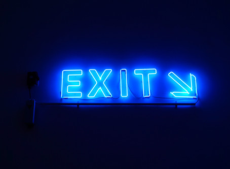 Exit . . Stage Right!