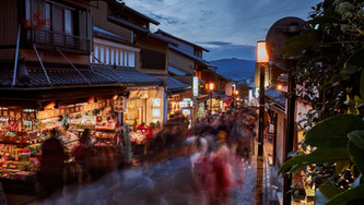 Townscape conservation through community participation in Japan