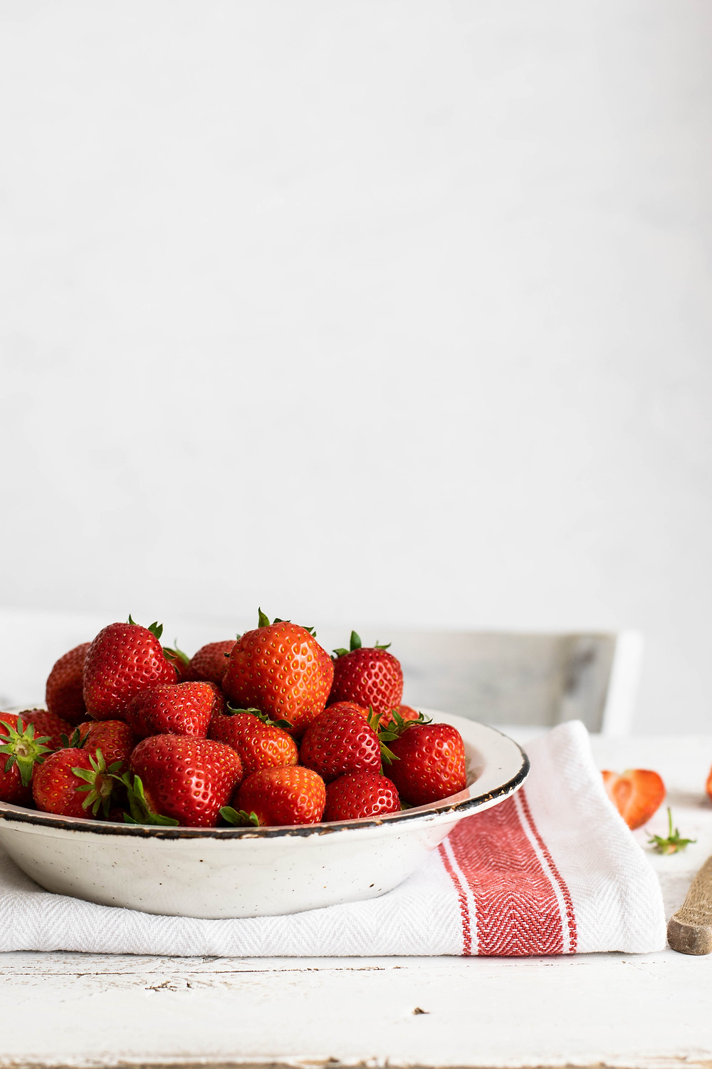 fresh Norwegian strawberries