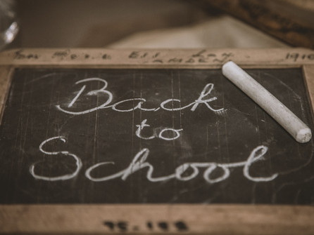 School News: Back to School Information