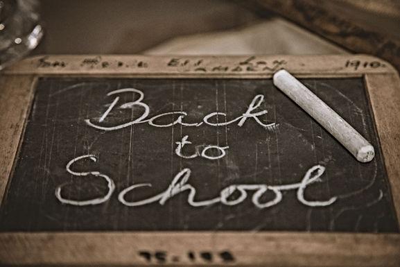 1 september: Terug naar school