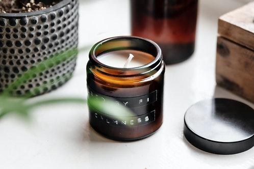 """ŽVAKUTĖ aromatinė žvakė """"Obuolys su cinamonu"""""""