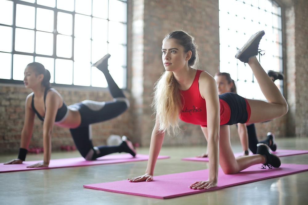 exercise fitness women