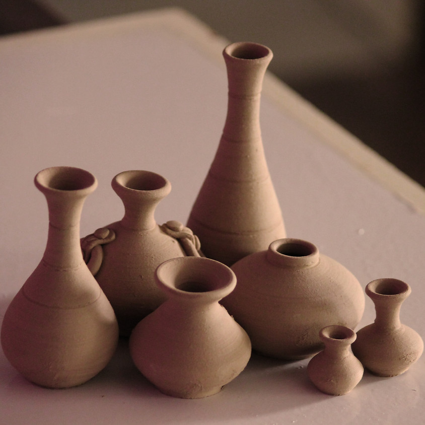 Pottery with Nat Doane - SOLD OUT Mondays April 5 - May 24, 2021