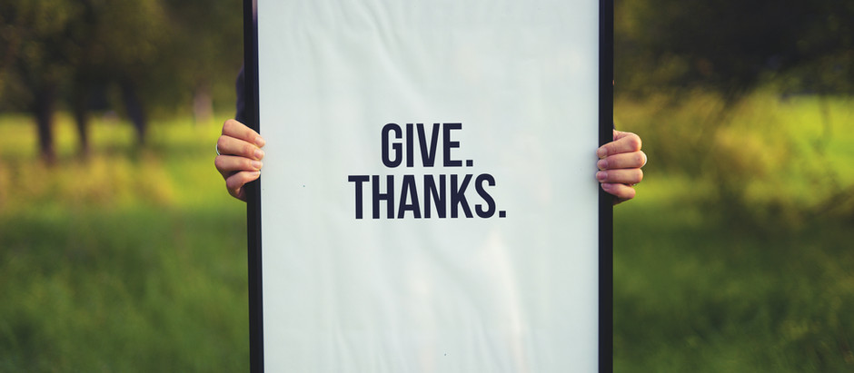 Give Thanks!!