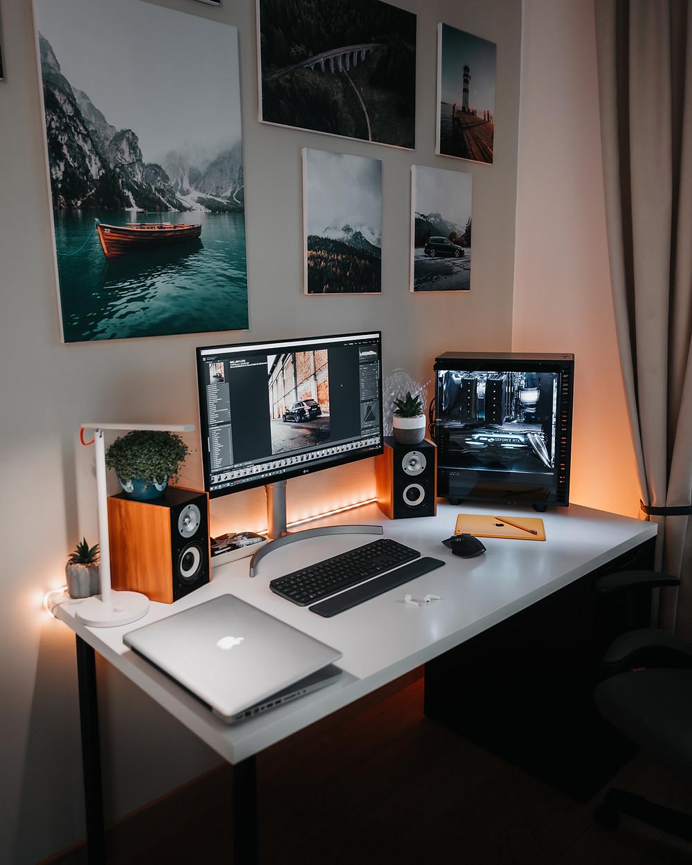 טיפים לעיצוב סביבת העבודה הביתית