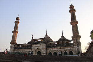 City tour of Lucknow