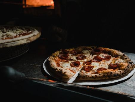 Pizza. Qui. Subito.
