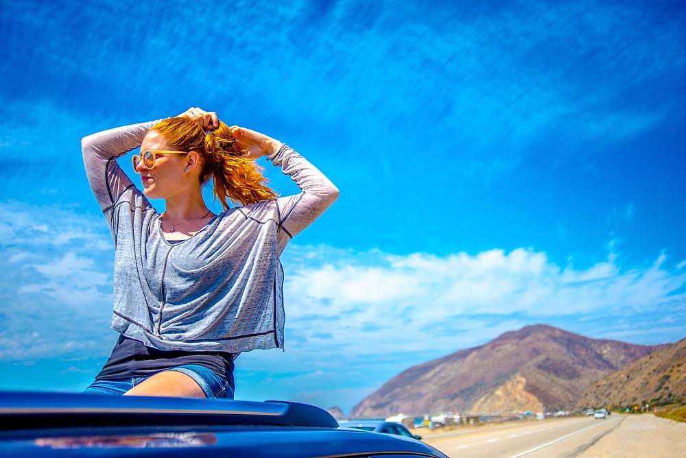 Pacific Coast Highway, Santa Monica, CA, USA