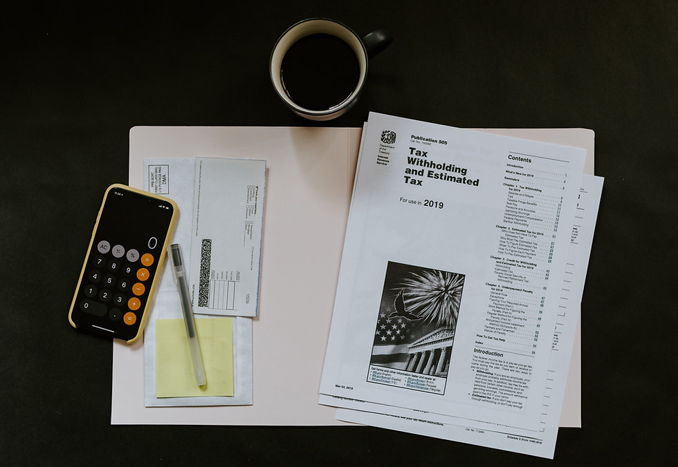 Cheque book and printed article