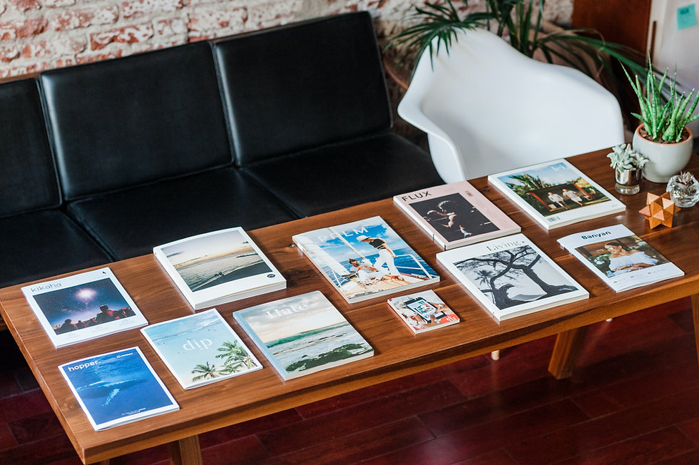 inspiration to make website for affluencers webspace by magzines on wooden tableImage by NMG Network