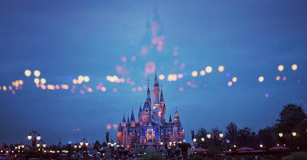 Disneyworld castle