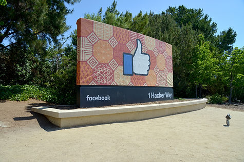 Facebook office entry point