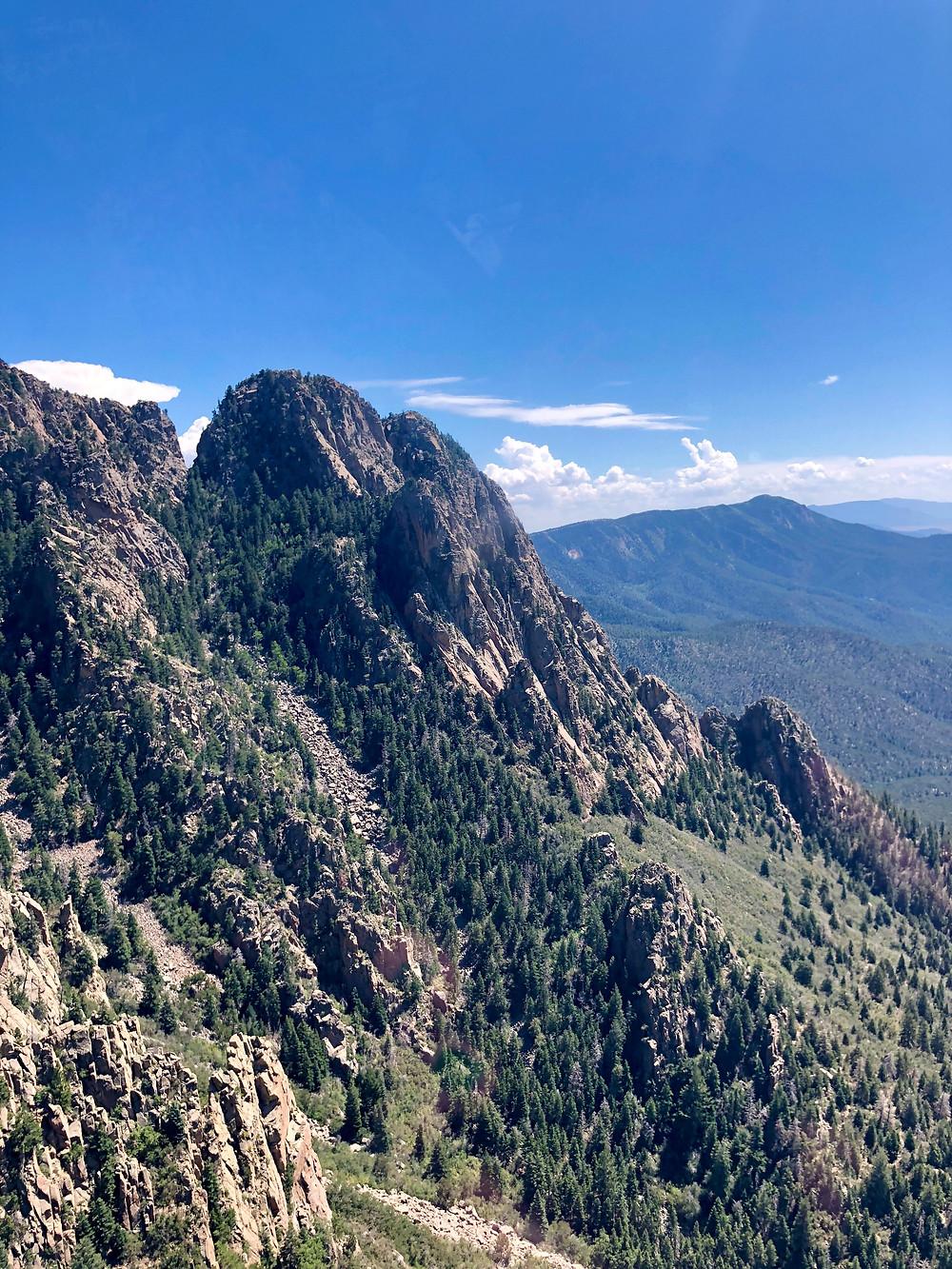 Sandia Mountains, Albuquerque