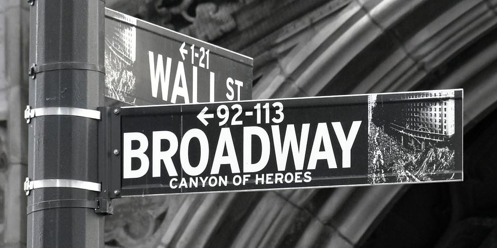A Night On Broadway Saturday Show