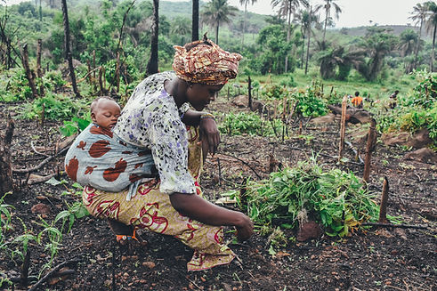 Mother Planting
