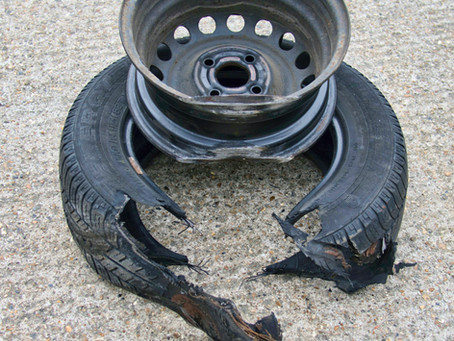 Why do truck tyres explode?