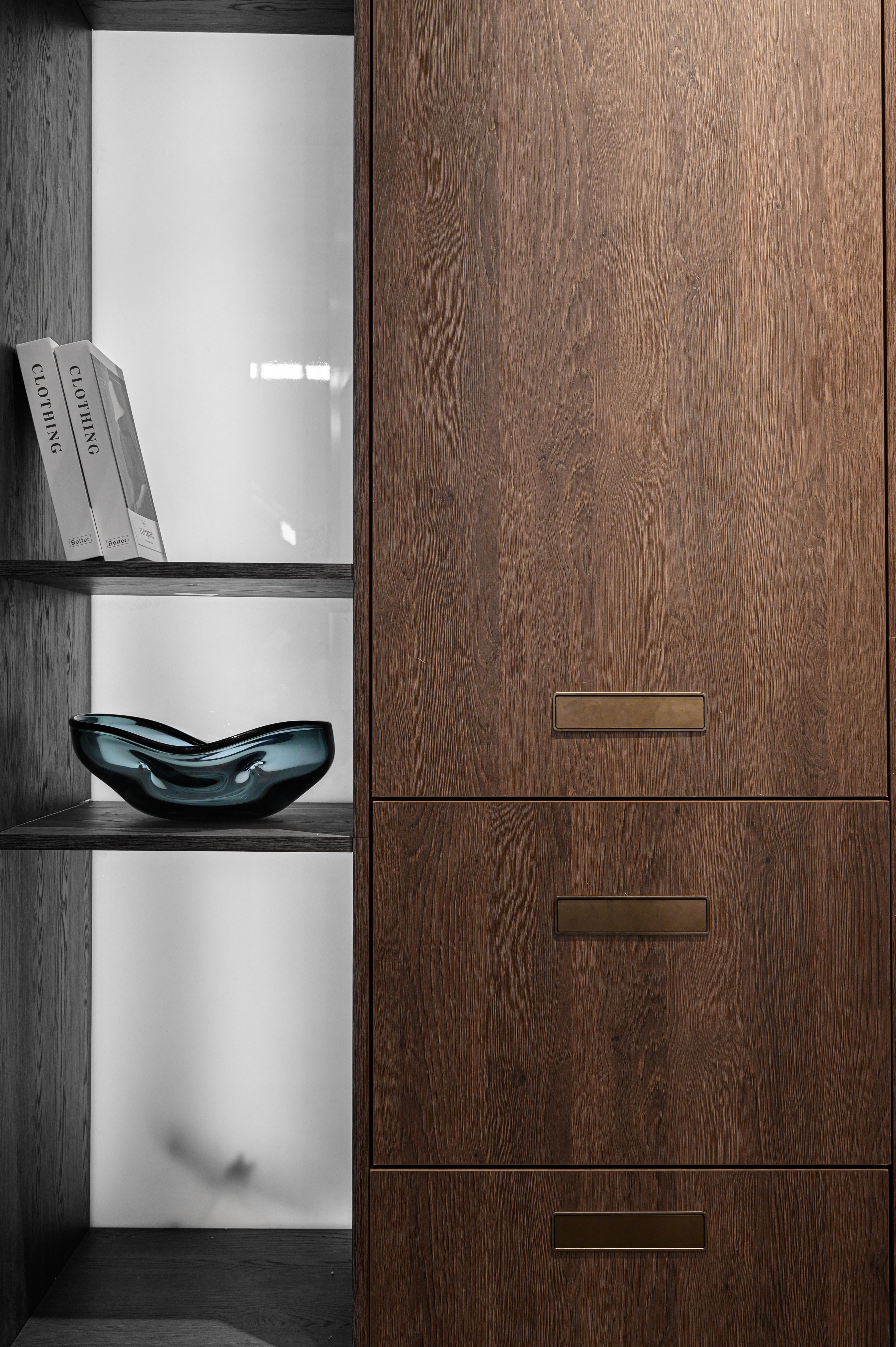 custom closet with storage