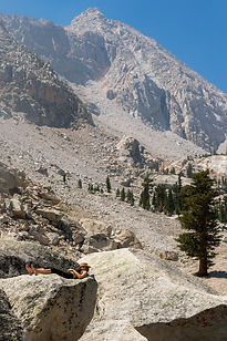 Spectacular scenery will be all around you on this fabulous 3-week backpacking trek along the rugged spine of California's High Sierra.  Hike the highest peak in the lower 48, Mount Whitney, and walk through beautiful forests and alpine meadows.  This is a trip of a lifetime, offering challenging and strenuous back-country hiking.
