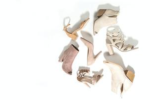 chaussures bohèmes beiges