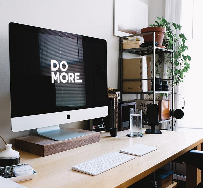 web design workspace