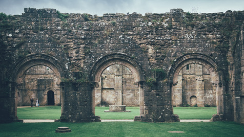 From the Kitchen Window - Ruins