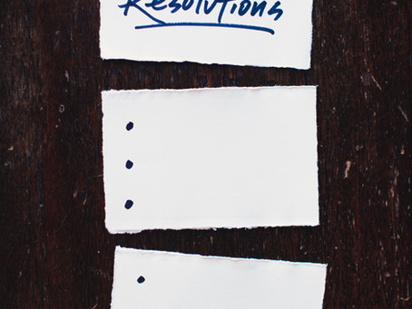 Resolutions For Your Resolutions