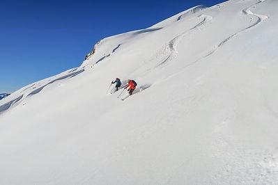 Off piste Ski Guide St Martin de Belleville