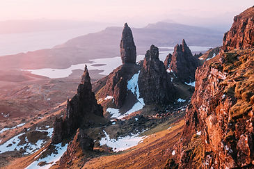 Old Man Of Storr - Winter - Isle of Skye