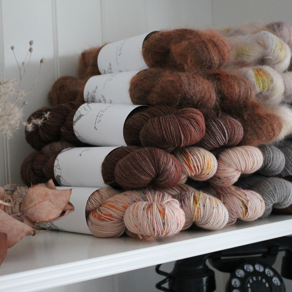 Quality yarns affordably priced by artisans for artisans.