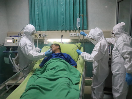 How can pandemic front line workers deal with mental health issues