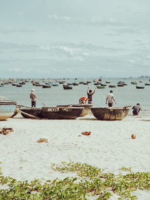 The Vietnamese beaches