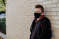 youth mask teenager kid