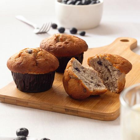 Basis oppskrift for sunne muffins.