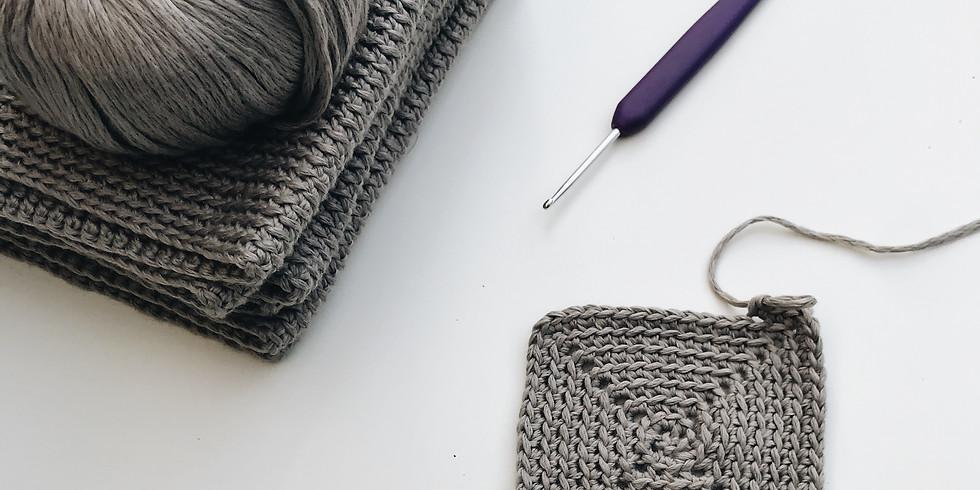 Crochet Granny Squares / / Weekly Wellness Workshop