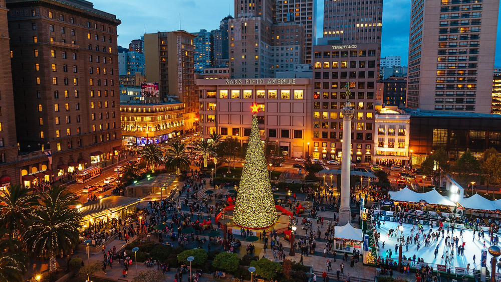 Union Square is one of the fun things to do in San Francisco (SF)