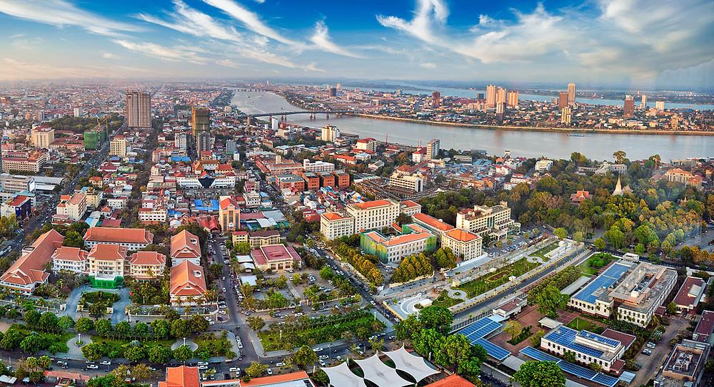 Phnom Penh. Illustration Paul Sjz