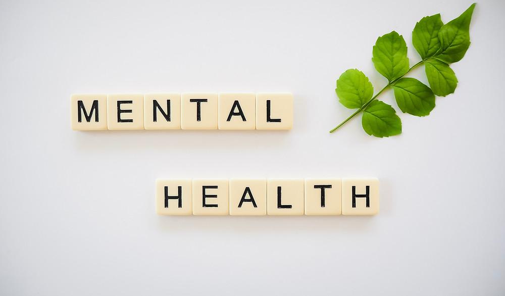 Mental Health Letter Blocks