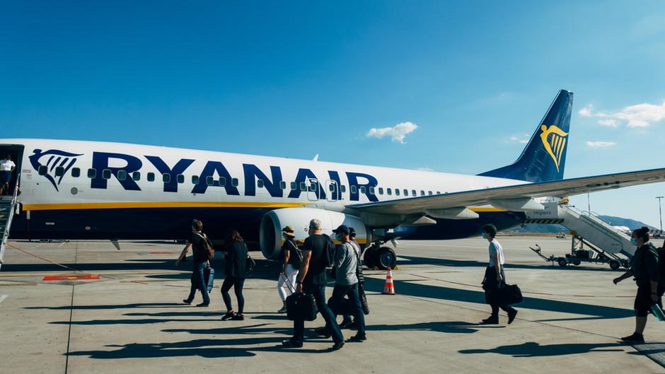 (POVOLJNI LETOVI) Povratne karte Ryanaira u lipnju od 10 eura!