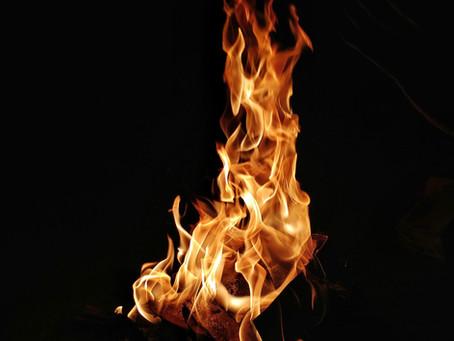 השראת האישה הפראית והאש שבה