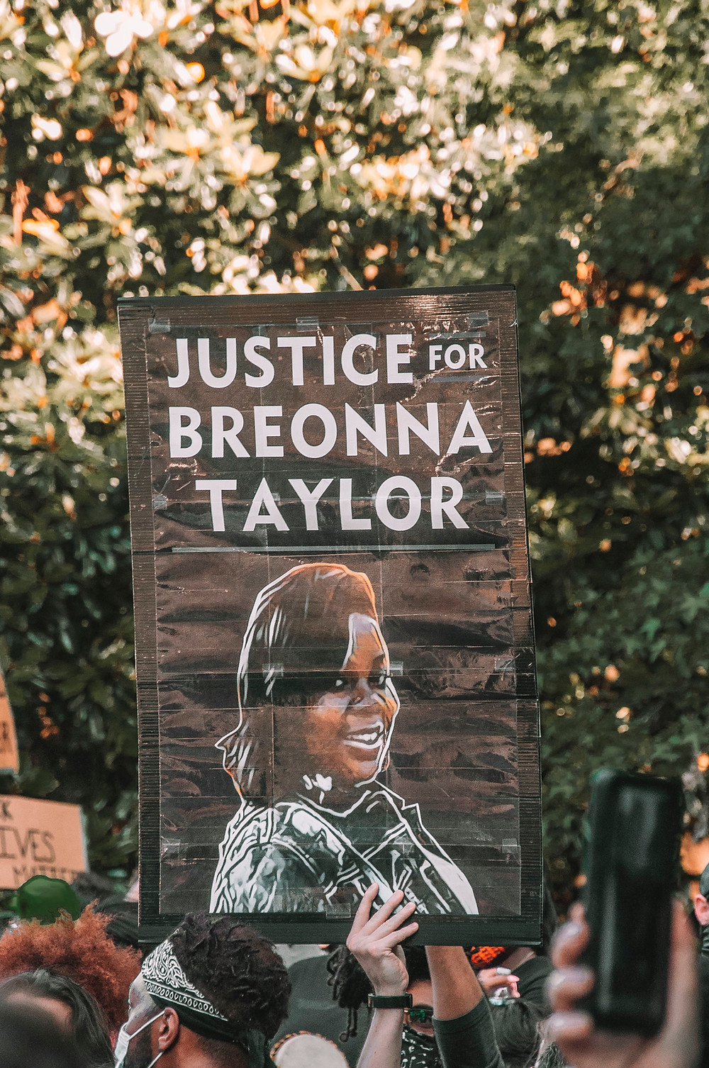 black lives matter racial justice protest Breonna Taylor