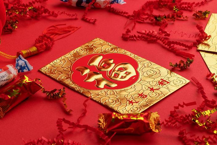 Foto de uma mesa decorada com temática chinesa