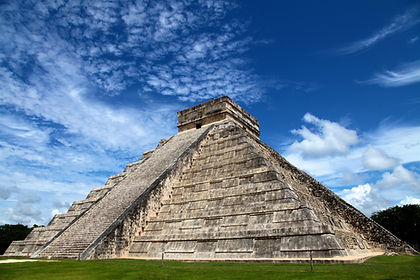 Starting off in the capital, this adventure tour of Mexico promises a wonderful selection of ancient sites, colonial towns, colourful markets and natural scenery.   Enjoy a city tour of Mexico City and visit the mysterious pyramids of Teotihuacan, once the largest city in North America.  Next fly to Chiapas State for an exploration of the  spectacular kilometre-deep Sumidero Canyon before visiting the colonial town of  San Cristobal and the surrounding indigenous villages.  Via the beautiful natural swimming holes at Roberto Barrios we descend the road  to the jungles surrounding the Maya ruins of Palenque, before exploring the stunningly well-preserved colonial city of Campeche. Uxmal with its Maya palaces and pyramids is next before we continue to Merida to absorb its beautiful Spanish-Moorish architecture.  Finally, en-route to the stunning beaches of Playa del Carmen, we visit the famous pyramids, palaces, temples and ball court of Chichen Itza.