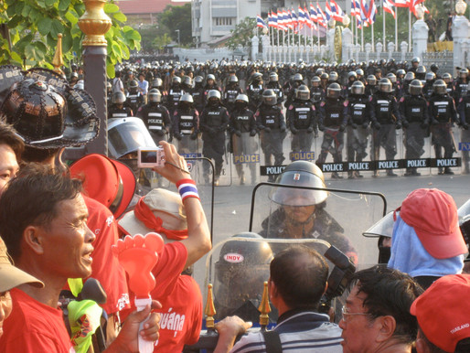 Thailand joins protesters worldwide to defend democracy