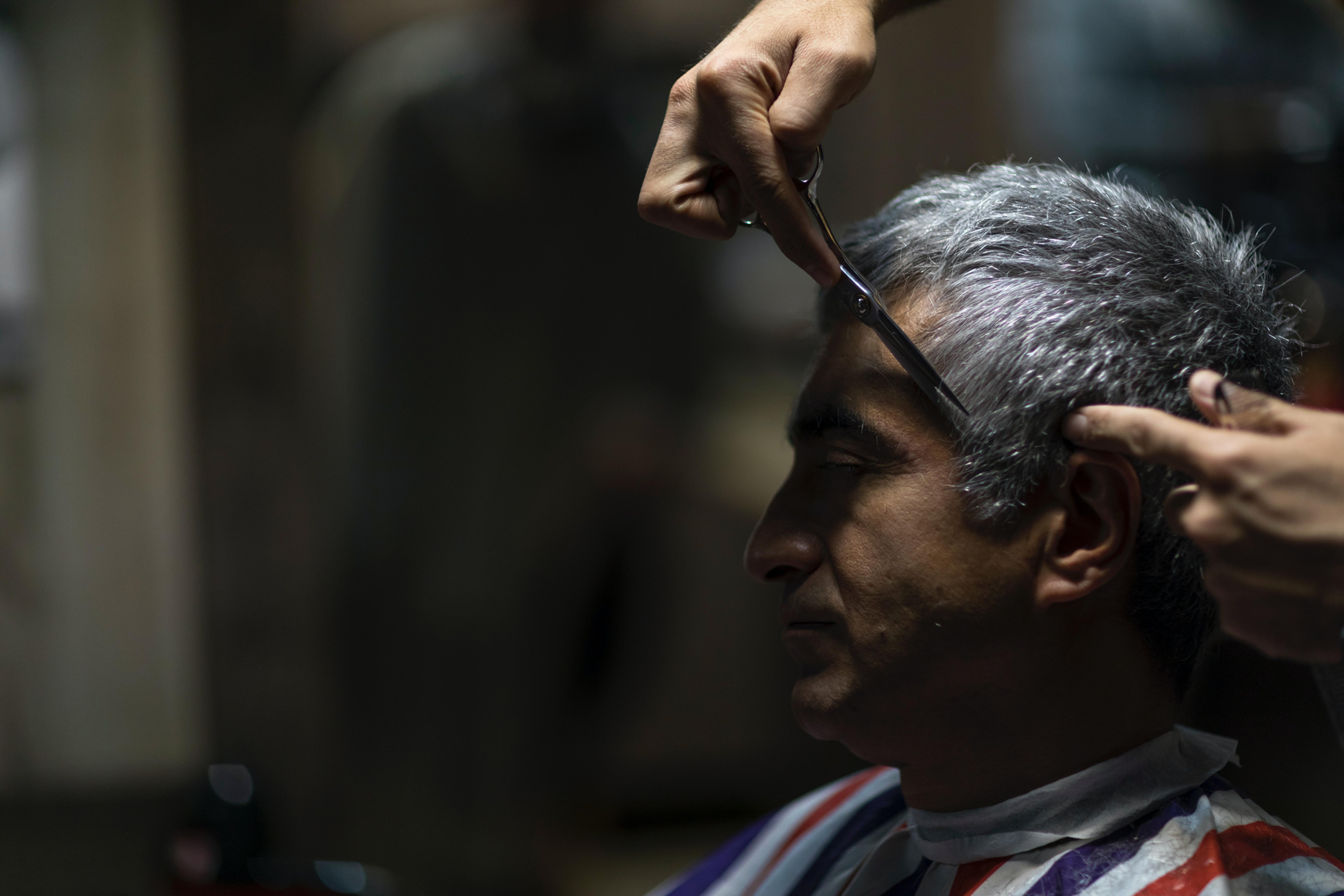 Senior Haircut In Matteson