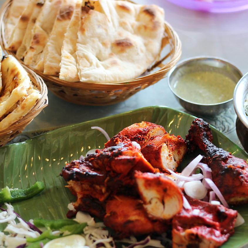 Virtual Quick Dinner: Tandoori-style Chicken