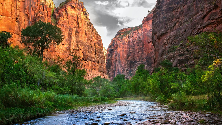 Zion Traverse Distance Run and Camping Trip