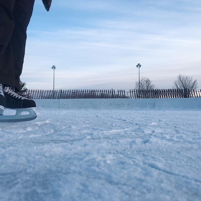 Ice Skating at Longshore