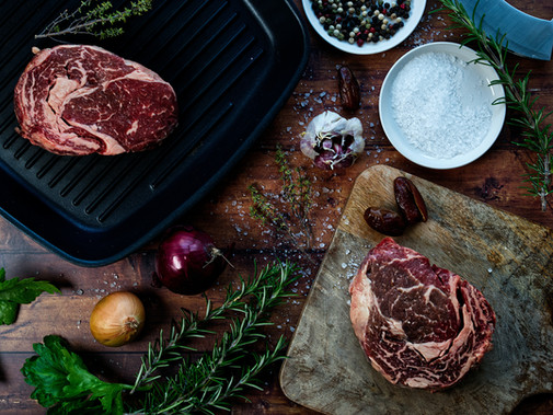 From which part of the beef entrecote is cut?