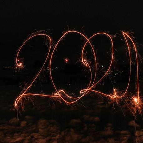 Frohes neues Jahr 2021!